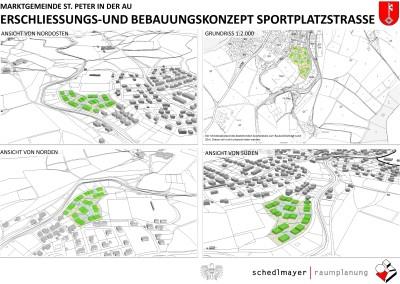 Parzellierungskonzept Sportplatzstraße