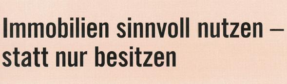 "Baulandreserve als ""Altlast"""