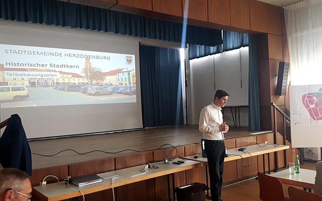 Informationsnachmittag Teilbebauungsplan Herzogenburg am 6. September im Volksheim